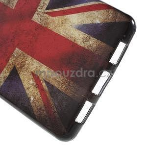 Gelový obal Style na Huawei Ascend P8 Lite - UK vlajka - 4