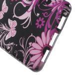 Gelový obal Style na Huawei Ascend P8 Lite - motýlci - 4/4