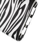 Gelový obal Style na Huawei Ascend P8 Lite - zebra - 4/4