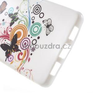 Gelový obal Style na Huawei Ascend P8 Lite - motýlkové - 4