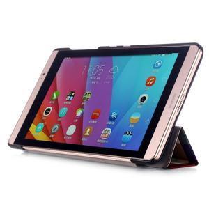 Třípolohové pouzdro na tablet Huawei MediaPad M2 8.0 - barevné kostičky - 4