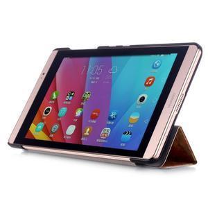 Třípolohové pouzdro na tablet Huawei MediaPad M2 8.0 - henna - 4