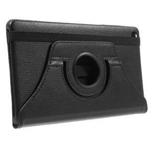 Otočné polohovatelné pouzdro na Huawei MediaPad M2 - černé - 4