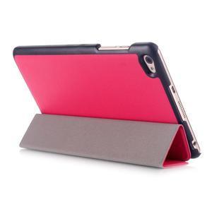 Trifold polohovatelné pouzdro na tablet Huawei MediaPad M2 8.0 - rose - 4
