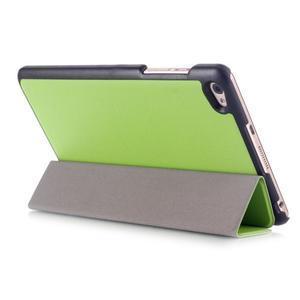 Trifold polohovatelné pouzdro na tablet Huawei MediaPad M2 8.0 - zelené - 4