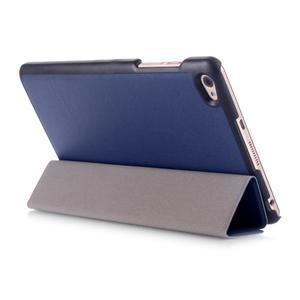 Trifold polohovatelné pouzdro na tablet Huawei MediaPad M2 8.0 - tmavěmodré - 4
