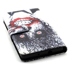 Standy peněženkové pouzdro na Huawei P8 Lite - monstrum - 4