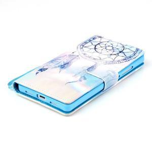 Picture PU kožené pouzdro na Huawei P8 Lite - lapač snů - 4