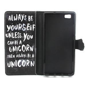 Emotive pouzdro na mobil Huawei P8 Lite - unicorn - 4