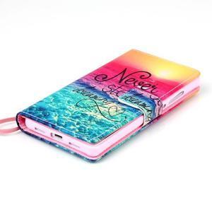 Picture PU kožené pouzdro na Huawei P8 Lite - nepřestávej snít - 4
