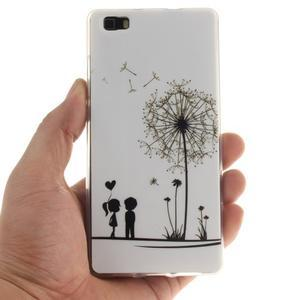 Flexi gelový obal na mobil Huawei P8 Lite - láska - 4