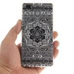 Flexi gelový obal na mobil Huawei P8 Lite - retro mandala - 4/5