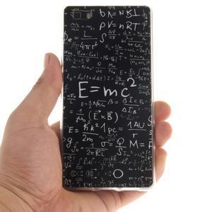 Flexi gelový obal na mobil Huawei P8 Lite - vzorečky - 4