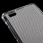 Diamonds gelový obal na Huawei P8 Lite - transparentní - 4/5