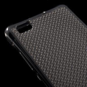 Diamonds gelový obal na Huawei P8 Lite - šedý - 4