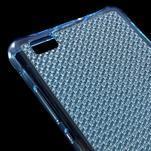 Diamonds gelový obal na Huawei P8 Lite - modrý - 4/5