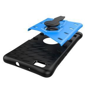 Armory odolný obal se stojanem na mobil P8 Lite - modrý - 4