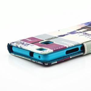 Knížkové pouzdro na mobil Huawei P9 Lite - Eiffelka - 4