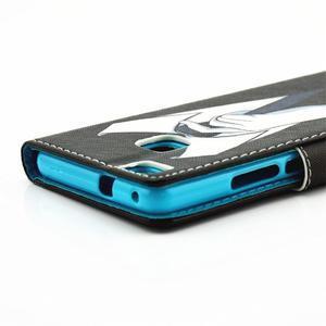 Knížkové pouzdro na mobil Huawei P9 Lite - muž v kravatě - 4