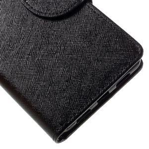 Easy peněženkové pouzdro na mobil Huawei P9 Lite - černé - 4