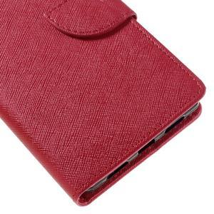 Easy peněženkové pouzdro na mobil Huawei P9 Lite - červené - 4