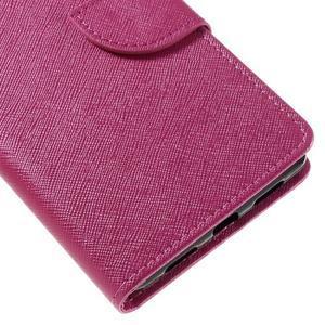 Easy peněženkové pouzdro na mobil Huawei P9 Lite - rose - 4