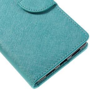 Easy peněženkové pouzdro na mobil Huawei P9 Lite - modré - 4
