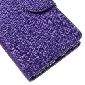 Easy peněženkové pouzdro na mobil Huawei P9 Lite - fialové - 4