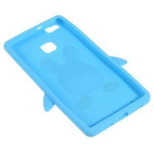 Silikonový obal na mobil Huawei P9 Lite - modrý - 4