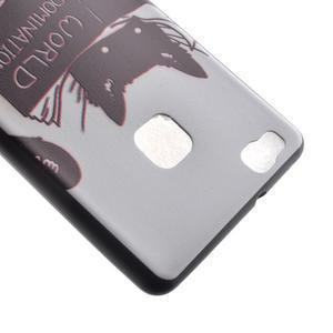 Softy gelový obal na mobil Huawei P9 Lite - kočička - 4