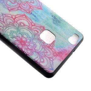 Softy gelový obal na mobil Huawei P9 Lite - lotus - 4