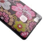 Softy gelový obal na mobil Huawei P9 Lite - květiny - 4/5