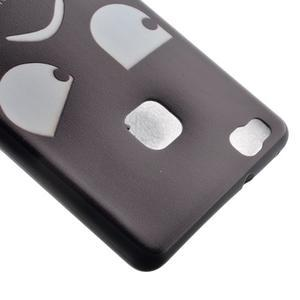 Softy gelový obal na mobil Huawei P9 Lite - nešahat - 4