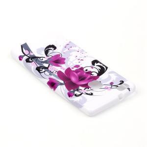 Emotive gelový obal na mobil Huawei P9 Lite - květy - 4