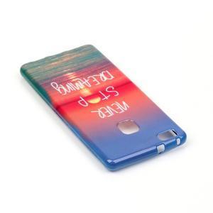 Emotive gelový obal na mobil Huawei P9 Lite - nepřestávej snít - 4