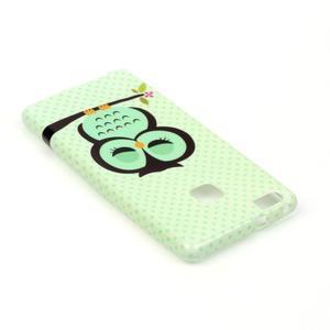 Emotive gelový obal na mobil Huawei P9 Lite - sovička - 4