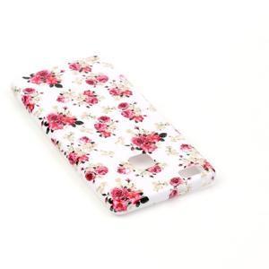Emotive gelový obal na mobil Huawei P9 Lite - květiny - 4
