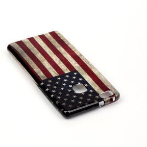 Emotive gelový obal na mobil Huawei P9 Lite - US vlajka - 4