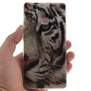 Gelový obal na Huawei P9 Lite - tygr - 4