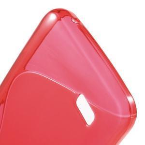 S-line gelový obal na mobil Huawei Y5 a Y560 - červený - 4