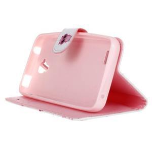 Stylové peněženkové pouzdro na Huawei Y5 a Y560 - sovička - 4