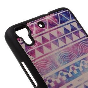 Sally gelový obal na mobil Huawei Y6 - geo tvary - 4