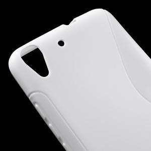 S-line gelový obal na mobil Huawei Y6 - bílý - 4