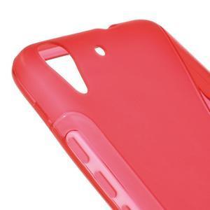S-line gelový obal na mobil Huawei Y6 - červený - 4