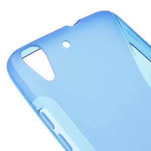 S-line gelový obal na mobil Huawei Y6 - modrý - 4