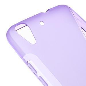 S-line gelový obal na mobil Huawei Y6 - fialový - 4