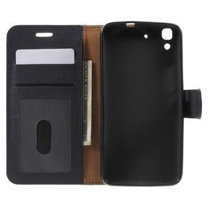 Clothy PU kožené pouzdro na Huawei Y6 - černé - 4