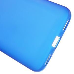 Matný gelový obal na mobil Huawei Y6 - modrý - 4
