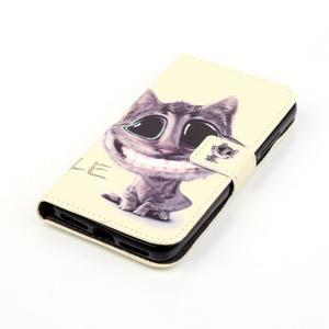 Knížkové pouzdro na mobil Huawei Y6 Pro - kocour - 4