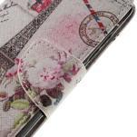 Emotive peněženkové pouzdro na mobil Huawei Y6 Pro - Eiffelova věž - 4/7